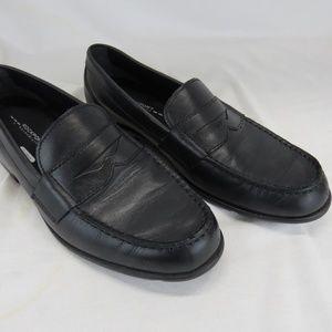 Rockport Walkability Trutech Leather Penny Loafers